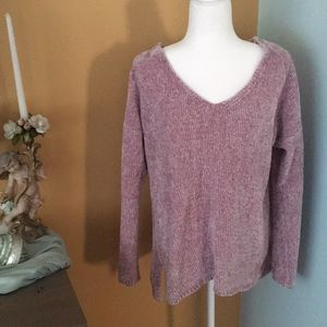 NWOT Pink Rose Sweater